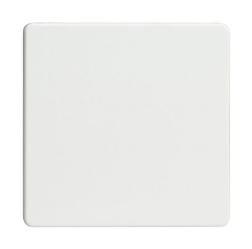 Varilight XDQSBS Screwless Premium White 1 Gang Single Blank Plate